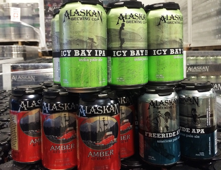 Alaskan Brewing Cans