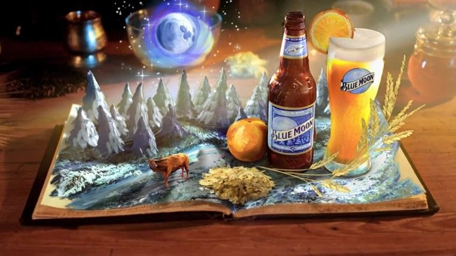 Blue Moon Brewing Belgian White Beer Connoisseur
