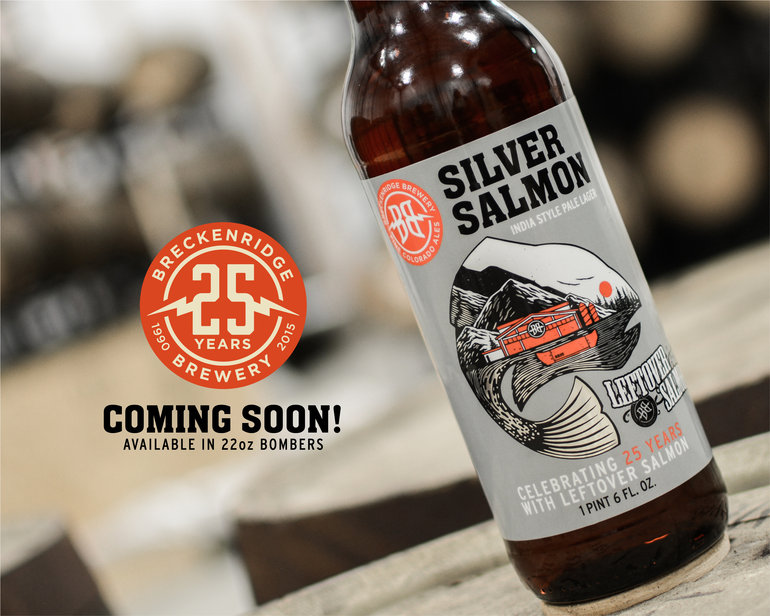 Breckenridge Brewery Beer Connoisseur Leftover Salmon Silver Salmon IPL