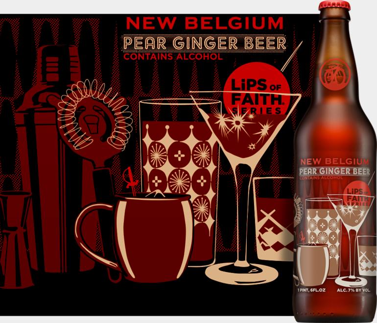 New Belgium Pear Ginger Beer, Beer Connoisseur