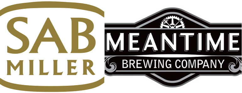 SABMiller Meantime Beer Logo