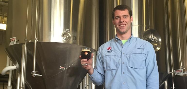 New Starr Hill Brewmaster Robbie O' Cain