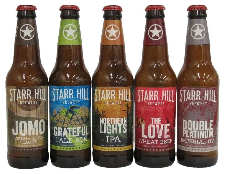 Starr Hill Brewery New Label Art