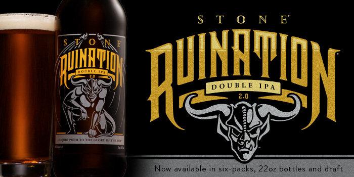 Stone Ruination 2.0 Double IPA