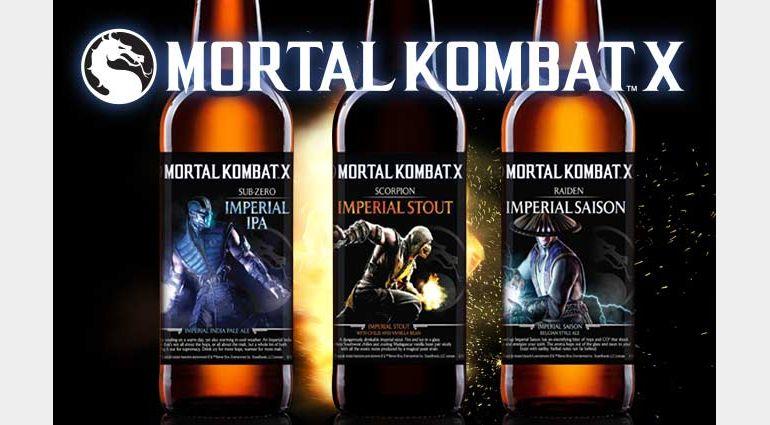 Mortal Kombat X Beers