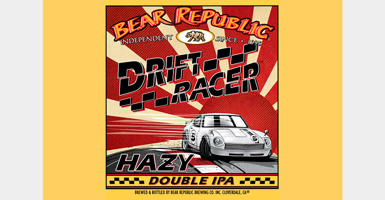 Bear Republic Brewing Co. Debuts Drift Racer Hazy Double IPA