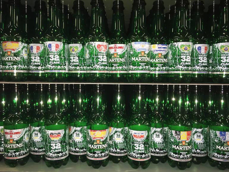 Brouwerij Martens Debuts 32 Team-Specific Bottle Designs for 2018 World Cup