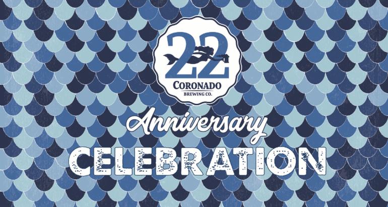 Coronado Brewing Celebrates 22nd Anniversary