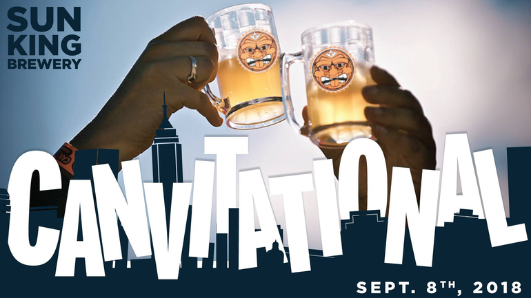 Sun King Brewing's CANvitational 2018 Festival is One Month Away
