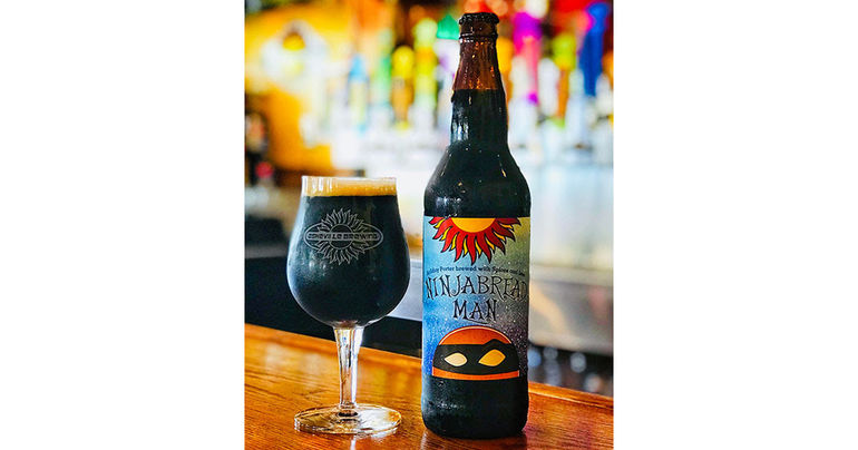 Asheville Brewing: It's Ninjabread Man Porter time!