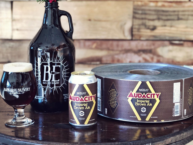 Back East Brewing Co. Cans Audacity Imperial Brown Ale