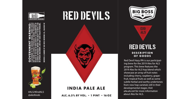 Big Boss Brewing Co. Participates in Ales for ALS with Red Devil's IPA