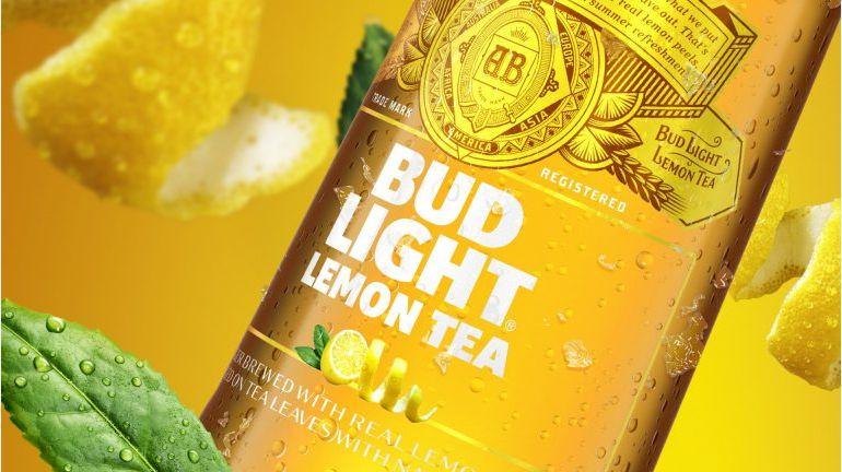 Bud Light Lemon Tea Joins Bud Light Lime and Bud Light Orange as Fruited Options