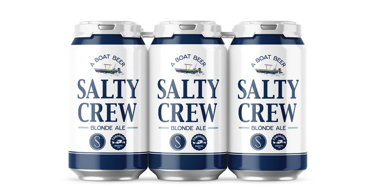 Coronado Brewing Co. Announces Salty Crew Blond Ale, a Collaboration with Salty Crew Apparel Brand