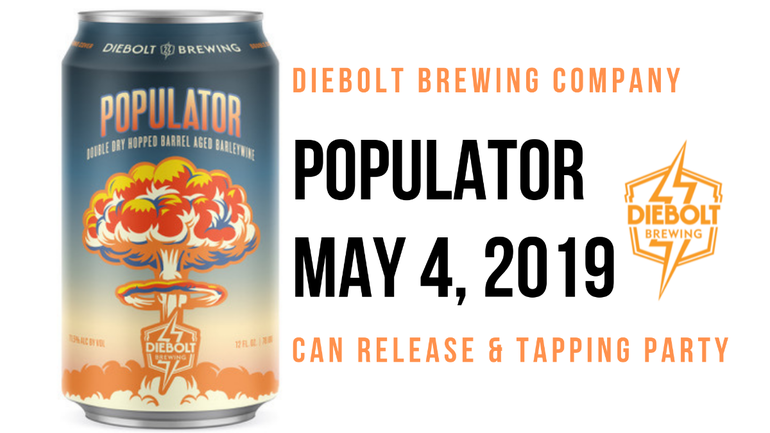 Diebolt Brewing Co.'s Populator Returns
