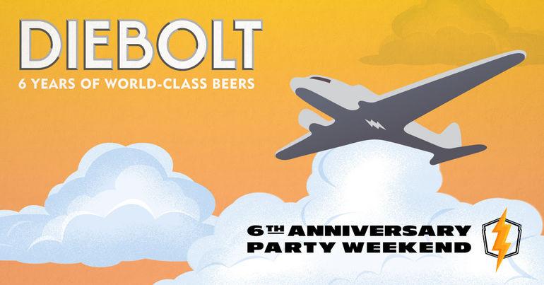 Diebolt Brewing Co. Celebrates 6th Anniversary