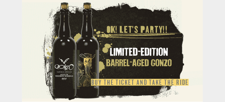Flying Dog Brewery Barrel-Aged Gonzo Returns for One Day Only
