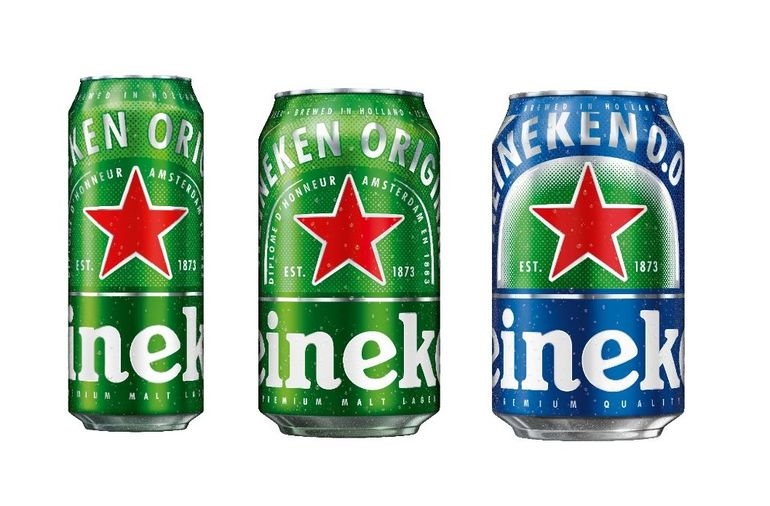 Heineken Unveils Redesigned Cans for Summer Season