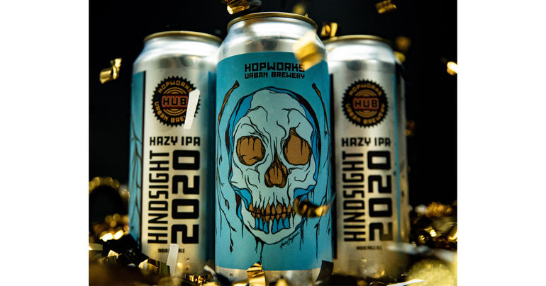 Hopworks Urban Brewery Unveils Hindsight 2020 Hazy IPA for New Year's Eve
