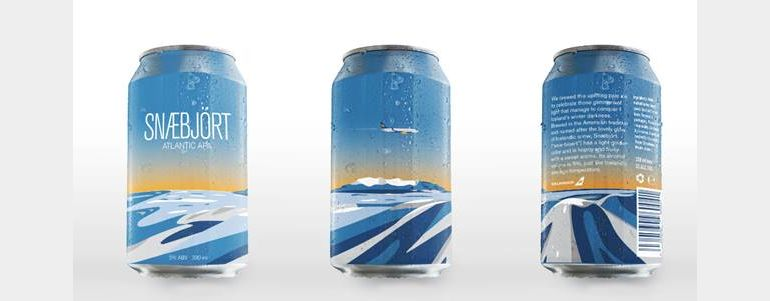 Icelandair Airline Introduces New Onboard Beer