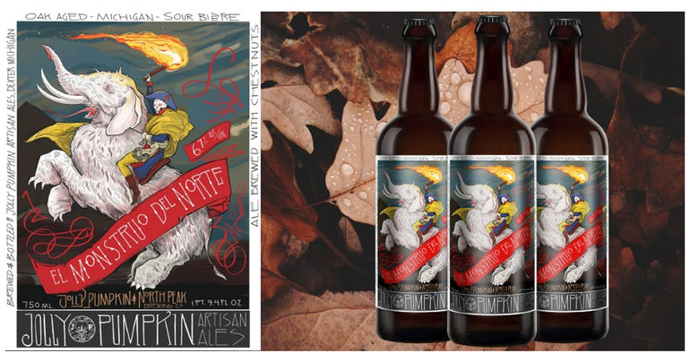 Jolly Pumpkin Artisan Ales and North Peak Brewing Company to Release 2 Collaboration Beers