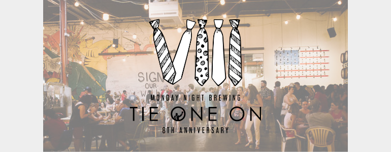 Monday Night Brewing 8th Anniversary Slated for August 3-4