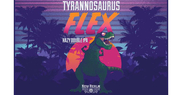 New Realm Brewing Co. Introduces Tyrannosaurus Flex Hazy Double IPA