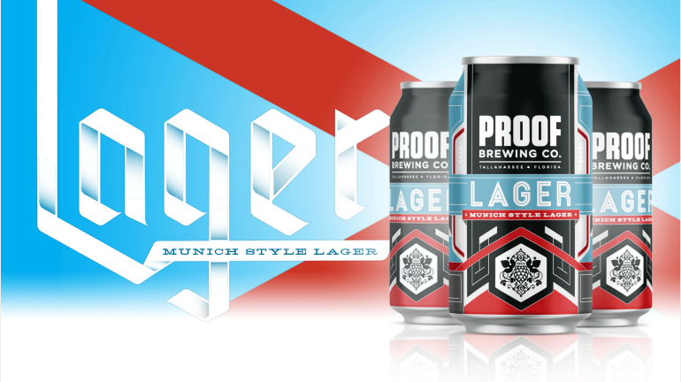 Proof Brewing Co. Debuts Lager in Year-Round Lineup