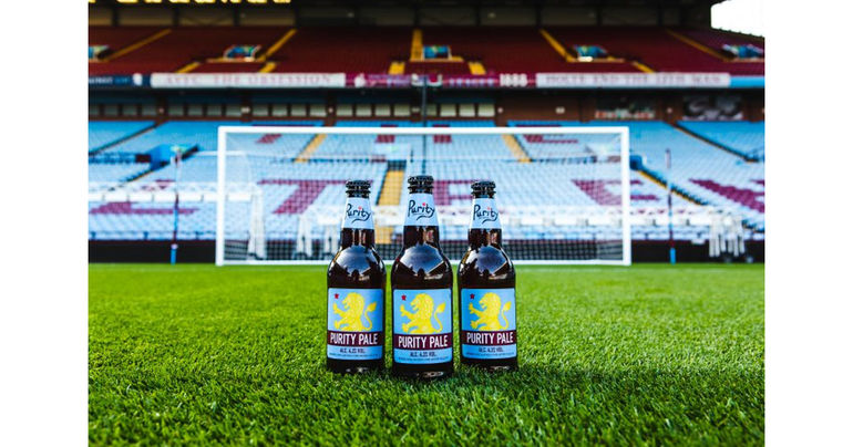 Purity Brewing Partners with Premier League Club Aston Villa FC