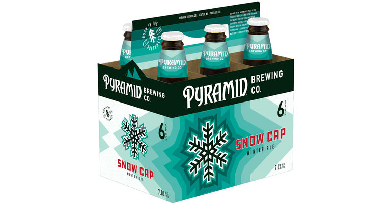 Pyramid Brewing Releases Snow Cap with All New Design