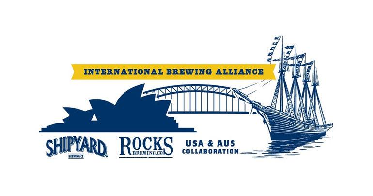 Shipyard Brewing Co. Establishes International Brewing Alliance with Rocks Brewing Co. in Australia