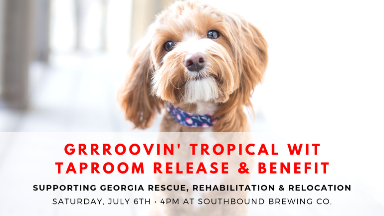 Southbound Brewing Co. Unveils GRRRoovin' Tropical Wit for Animal Rescue
