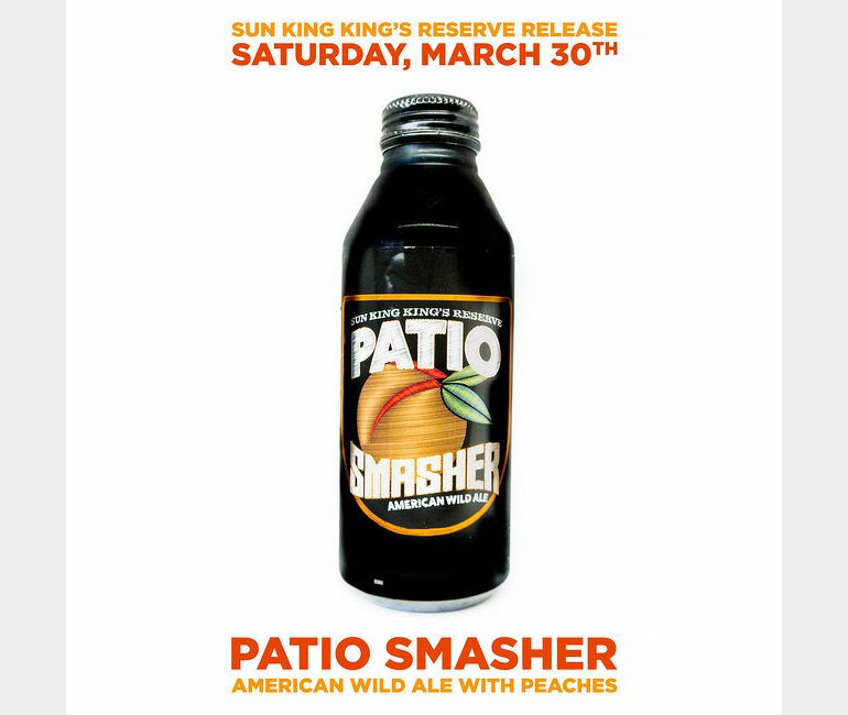 Sun King Brewing Patio Smasher Returns in King's Reserve Series