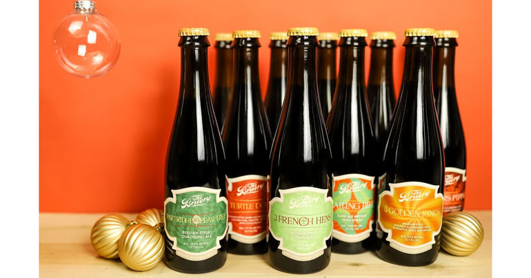The Bruery to Rerelease 12 Beers of Christmas Series in Collectible Box