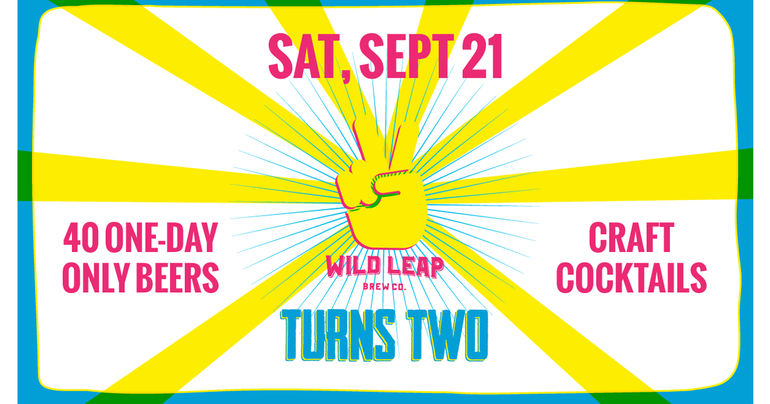 Wild Leap Brew Co. Announces Beer List for 2nd Anniversary Celebration