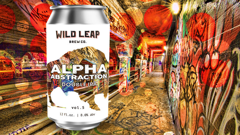 Wild Leap Brew Co. Unveils Newest Alpha Abstraction Series Beer, Vol. 5 Double IPA