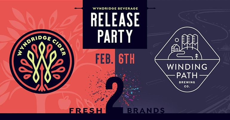 Wyndridge Beverage Announces Two Brands: Wynridge Cider Co. and Winding Path Brewing Co.