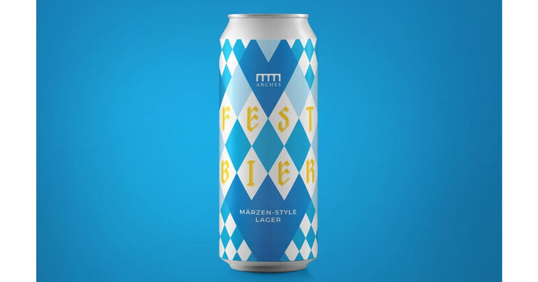 Arches Brewing Festbier Debuts in 16-Ounce Cans