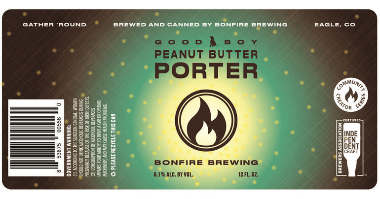 Bonfire Brewing Unveils Good Boy Peanut Butter Porter