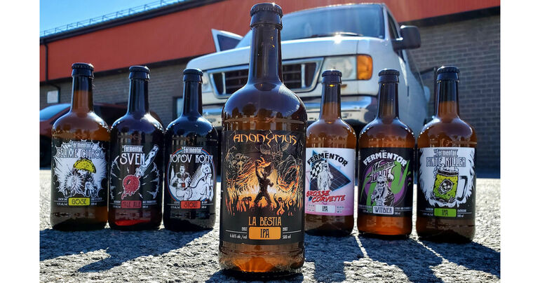 Canadian Thrash Metal Band Anonymus Launch La Bestia Beer
