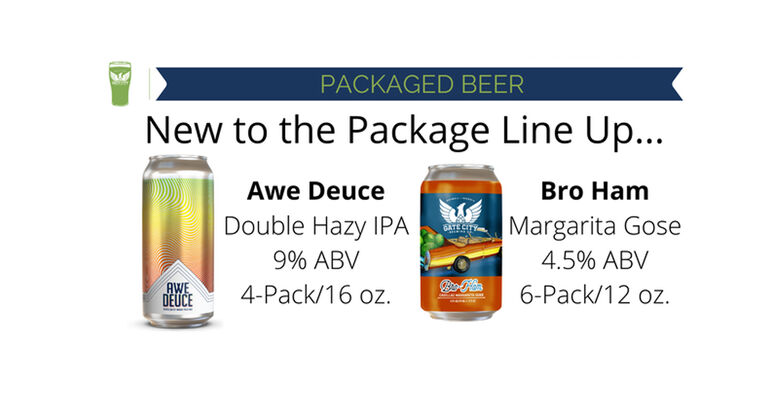 Gate City Brewing Co. Adds Two Beers to Packaged Beer Lineup