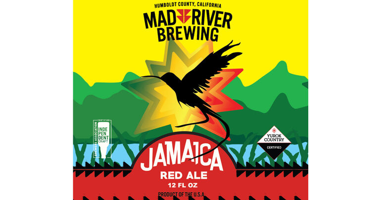 Mad River Brewing Debuts New Jamaica Red Ale Logo
