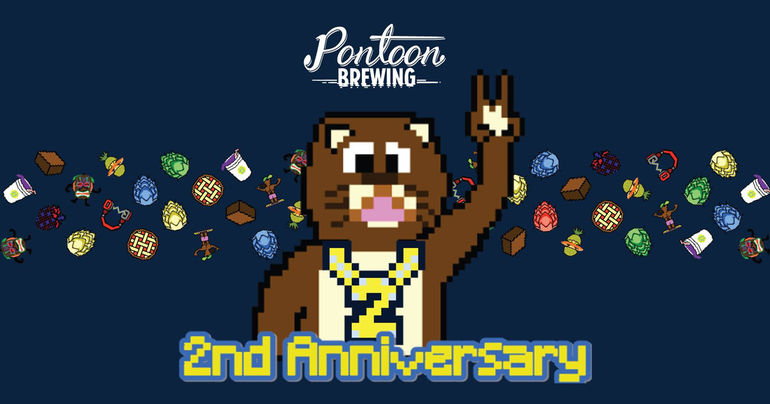 Pontoon Brewing Announces 2nd Anniversary Party