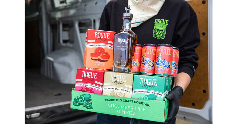 Rogue Ales & Spirits Currently Available for Local Delivery, Pick-up & Shipping