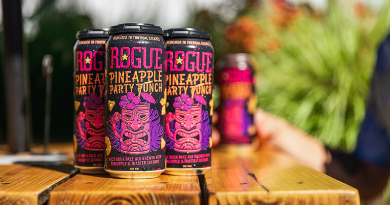 Rogue Ales & Spirits Debuts Pineapple Party Punch