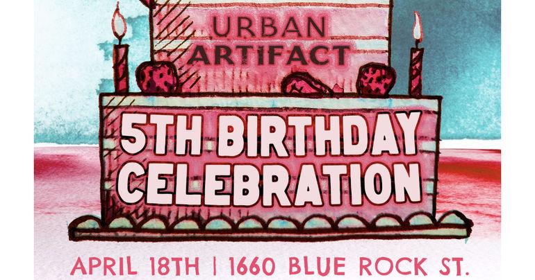 Urban Artifact Celebrates 5th Anniversary