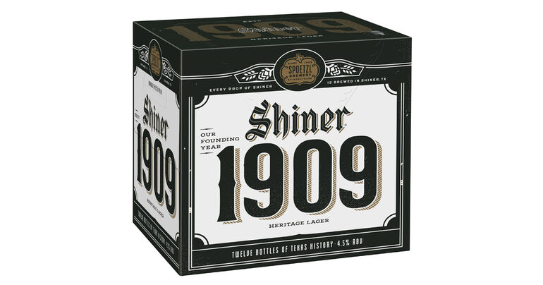 Shiner Beers Releases New Shiner 1909 to Honor 112 Years of Brewing, Also Debuts Shiner Bock Heritage Edition