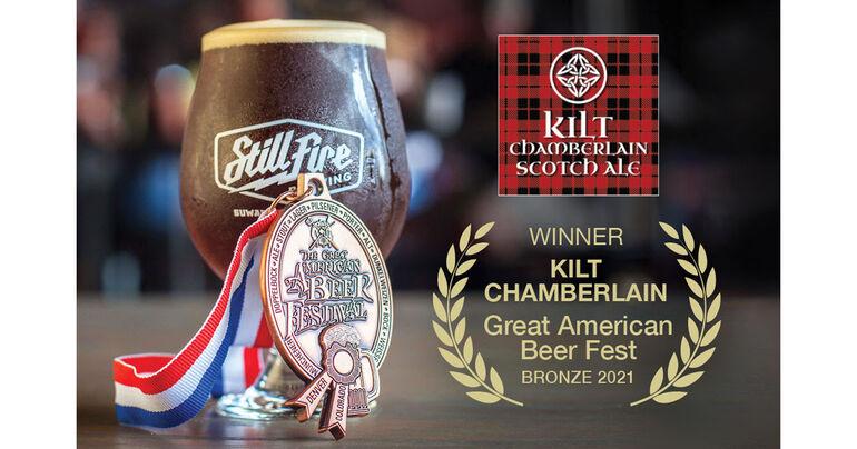 StillFire Brewing's Kilt Chamberlain Brings Home GABF Bronze Medal