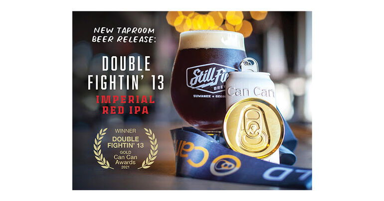 StillFire Brewing's Newest Taproom Release is Double Fightin' 13 Imperial Red IPA