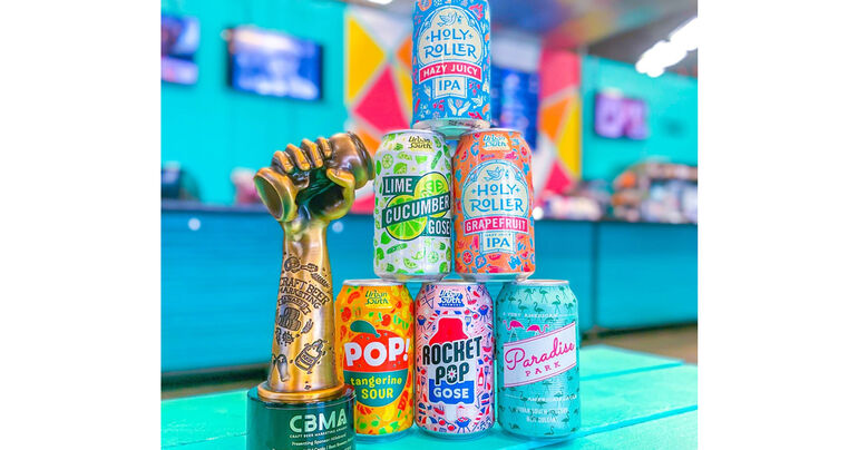Urban South Brewery Receives Gold Crushie in 2021 Craft Beer Marketing Awards for Best Brewery Rebrand
